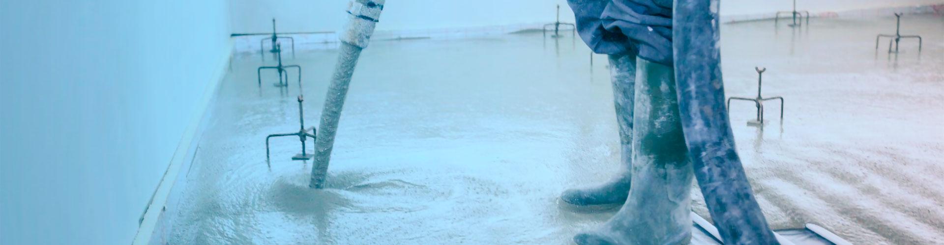Strojní lité podlahy